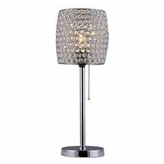 Warehouse Of Tiffany Cleopatra 1-light Crystal Table Lamp