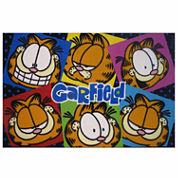Garfield Images Rectangle Rugs