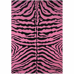 Zebra Skin Rectangular Rugs