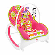 Fisher Price Infant to Toddler Rocker Floral
