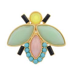 Liz Claiborne Womens Multi Color Stretch Ring