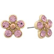 Monet Jewelry Pink Stud Earrings