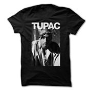 Tupac Graphic T-Shirt- Juniors