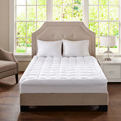 Madison Park Cloud Soft Plush Waterproof Waterproof Quilted Mattress Pad