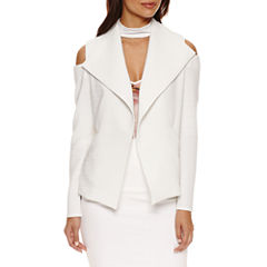Bisou Bisou Cold Shoulder Blazer