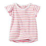 Carter's Toddler Girls Short Sleeve Tunic Top