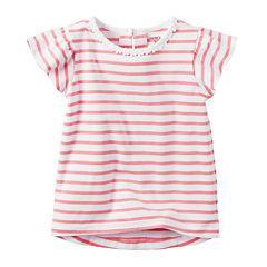 Carter's Toddler Girls Short Sleeve Tunic Top