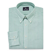 Stafford® Travel Winkle Free Oxford Dress Shirt