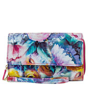 Mundi Big Fat Wristlet Midday Bloom Wallet