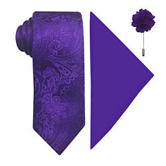 J.Ferrar Paisley Tie Set