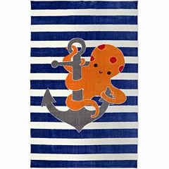 Mohawk Home® Little Octopus Rectangular Rug