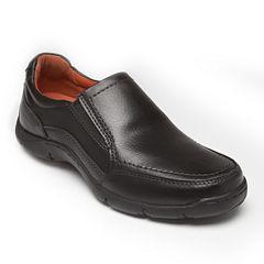 Streetcars® Cars Daytona Mens Leather Slip-On Shoes