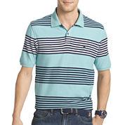 IZOD® Short-Sleeve Heritage Stripe Piqué Polo Shirt