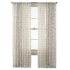 CLOSEOUT! MarthaWindow™ Windowpane or Mum Blossoms Window Treatments