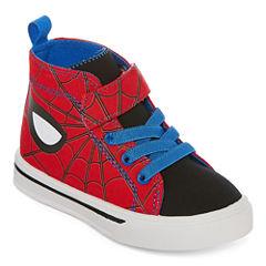 Spiderman High Top Boys Sneakers - Toddler