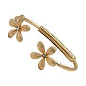 Bold Elements Womens Diamond Accent Cuff Bracelet
