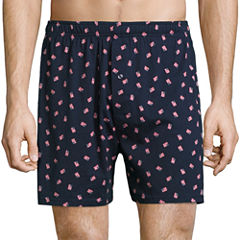 Stafford® Print Knit Cotton Boxers