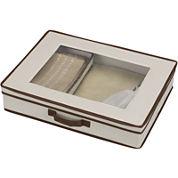 Household Essentials® Tabletop Set Storage Chest + Window on Top