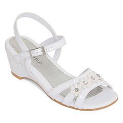 Christie & Jill™ Colbie Girls' Sandals - Little Kids