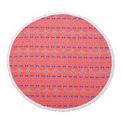 Tile Medallion Picnic Beach Towel
