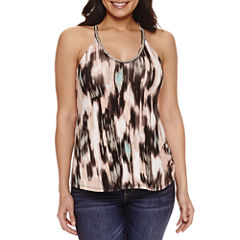 Bold Elements Beaded V Neck Top