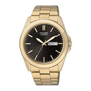 Citizen® Mens Gold-Tone Stainless Steel Watch BF0582-51F