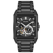 Bulova Mens Black Bracelet Watch-98a180