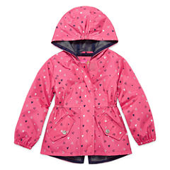 Pink Platinum Girls Lightweight Anorak-Toddler