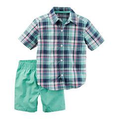 Carter's Boys 2-pc.Short Sleeve Short Set