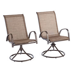 Outdoor Oasis™ Newberry Swivel Chair set of 2