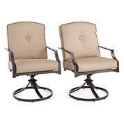Outdoor Oasis™  Stratton Swivel Chair set of 2