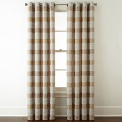 Studio Tempest Stripe Grommet-Top Curtain Panel