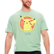 Pikachu Retro Hybrid T-Shirt-Big And Tall