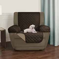 Maytex Smart Cover™ 3-pc. Reversible Quilted Microfiber Recliner Pet Cover