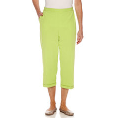 Alfred Dunner Cable Beach Capris