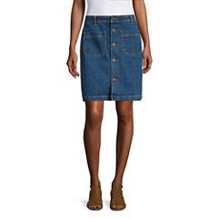 Misses Size Denim Skirts Skirts for Women - JCPenney