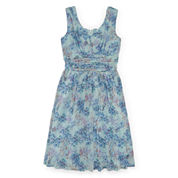 Speechless® Chiffon Floral Party Dress - Girls 7-16