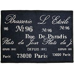 Brasserie Rectangular Rug