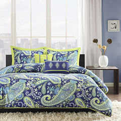 Intelligent Design Rachelle Paisley Comforter Set
