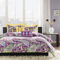 Intelligent Design Kayla Paisley Duvet Cover Set