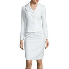 Isabella Long-Sleeve Double Collar Fifth Sunday Skirt Suit Set
