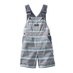 OshKosh B'gosh® Striped Shortalls - Baby Boys 3m-24m