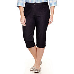 St. John`s Bay Plus Size Capris & Crops for Women - JCPenney