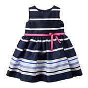 Carter's® Sleeveless Stripe Dress - Baby Girls newborn-24m