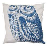 Park B. Smith® Owl Feather Decorative Pillow
