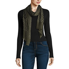 V. Fraas Oblong Dots Scarf