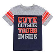 Okie Dokie Short-Sleeve Football T-Shirt - Toddler 2T-5T