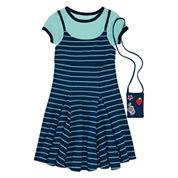 Knit Works Sleeveless Slip Dress - Big Kid
