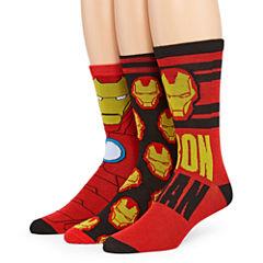 Marvel® Ironman 3-pk. Crew Socks