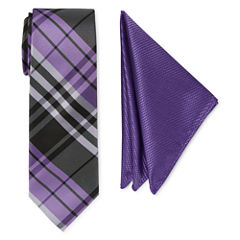 U.S. Polo Assn. Plaid Tie Set